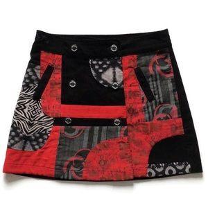 Desigual Izala Corduroy Mini Skirt, size 42/US 10